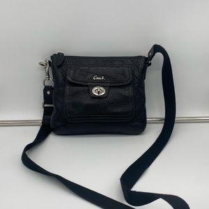 Coach Pebbled Leather Messenger Bag
